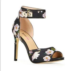 JustFab Melisande in Floral Heels